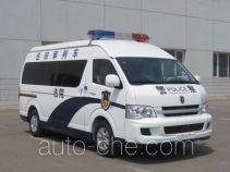 金杯牌SY5038XSPL-G3S1BH型审判车