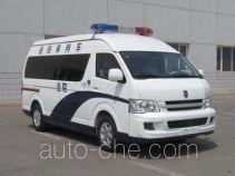 Jinbei SY5038XSPL-MSBH judicial vehicle
