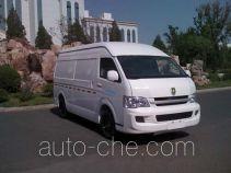Jinbei SY5038XXYL-MSBH box van truck