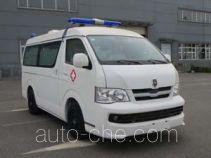 金杯牌SY5039XJH-D4S1BH型救护车