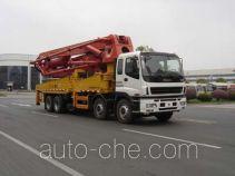 三一牌SY5383THB型混凝土泵车