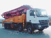 三一牌SY5389THB型混凝土泵车