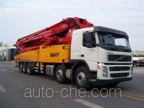 三一牌SY5502THB型混凝土泵车