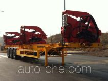 Sany SY9400TCZ self-loading container transport trailer