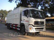 Bulk waste crane truck
