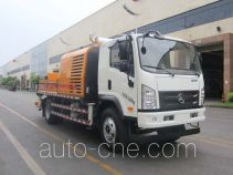 Sany SYM5123THBD truck mounted concrete pump