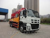 三一牌SYM5273THBDW型混凝土泵车