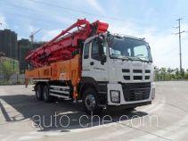 三一牌SYM5337THBDW型混凝土泵车