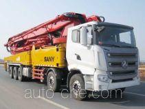 三一牌SYM5521THB型混凝土泵车