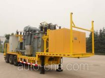 Transformer substation trailer