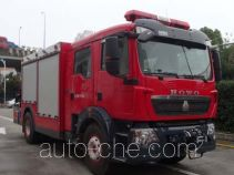 Wuyue TAZ5144TXFJY90 пожарный аварийно-спасательный автомобиль