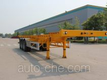 Wuyue TAZ9404TJZA container transport trailer