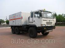 Explosive materials transport off-road desert truck for petroleum geophysical exploration