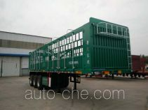 晋龙东捷牌TDJ9401CCY型仓栅式运输半挂车