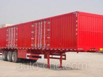 Zhihuishu TDZ9403XXY box body van trailer