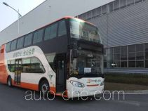Hybrid double decker city bus