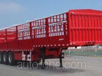 鑫华驰牌THD9404CCY型仓栅式运输半挂车