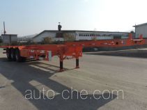 Xinhuachi THD9404TJZ container transport trailer