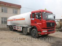 Huanghai THH5300GDJA cryogenic liquid dispensing tank truck