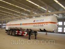 Huanghai THH9400GDYC cryogenic liquid tank semi-trailer