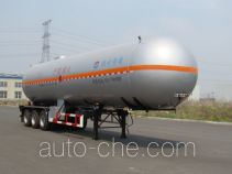 Huanghai THH9400GYQA liquefied gas tank trailer
