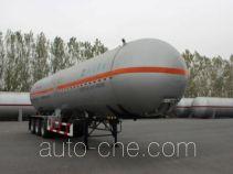 Huanghai THH9400GYQC liquefied gas tank trailer