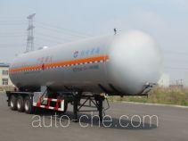 黄海牌THH9401GYQA型液化气体运输半挂车