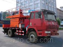 THpetro Tongshi THS5150TJX3 pumping units repair and maintenance truck