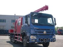 THpetro Tongshi well servicing rig (workover unit) truck