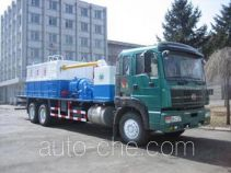 Sand washing liquid handling truck