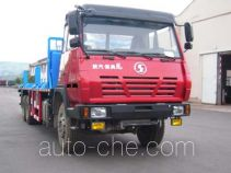 THpetro Tongshi THS5250TYC4 pipe transport truck