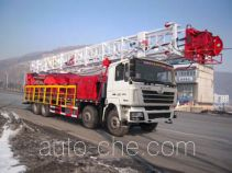 THpetro Tongshi THS5360TXJ4 well-workover rig truck