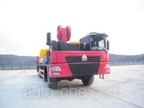 Well-workover rig truck