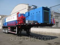 Workover fluid handling trailer