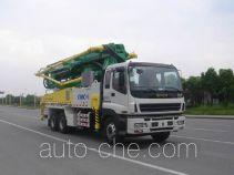 CIMC Tonghua THT5320THB concrete pump truck