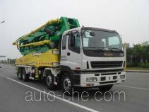 CIMC Tonghua THT5381THB concrete pump truck