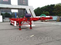 CIMC Tonghua THT9150TJZ empty container transport trailer