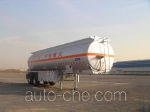 CIMC Tonghua THT9290GRYD flammable liquid aluminum tank trailer