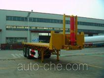 通华牌THT9350ZZXP型平板自卸半挂车