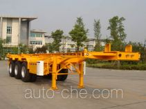 CIMC Tonghua THT9401TJZA container transport trailer