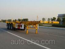 通华牌THT9402TJZA型集装箱运输半挂车