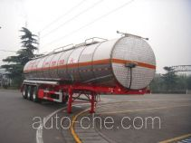 CIMC Tonghua THT9403GRYC flammable liquid aluminum tank trailer