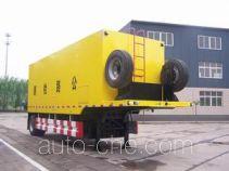Road testing trailer