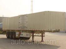 Tianjun Dejin TJV9400XXYG box body van trailer