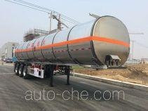Tianming TM9407GRYTL2 flammable liquid aluminum tank trailer