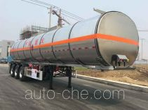 Tianming TM9407GRYTF2 flammable liquid aluminum tank trailer