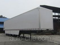 Mailong TSZ9392XXY box body van trailer