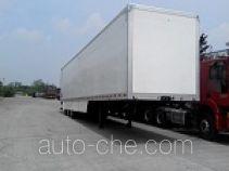 迈隆牌TSZ9393XXY型厢式运输半挂车