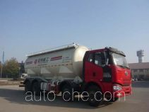 Medium-density bulk powder transport truck