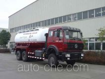 Oilfield fly ash transport tank truck